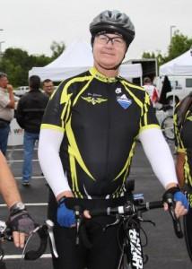 Danny, at the 2013 Tour de Cure Tulsa.