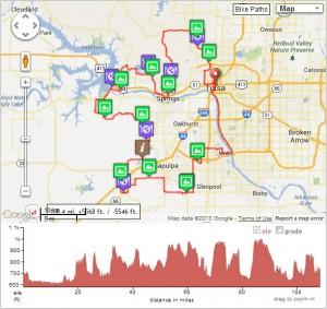 Saint Francis Tulsa Tough Saturday Gran Fondo